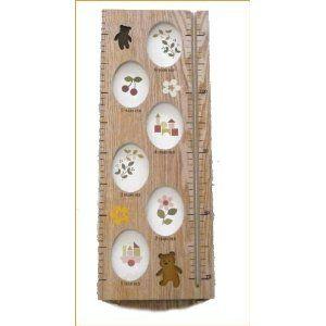 身長計 写真立て 木製 木のおもちゃ フォトフレーム 写真 メモリアルグッズ 記念写真 *出産祝いやギフトにもどうぞ=ベビー用品