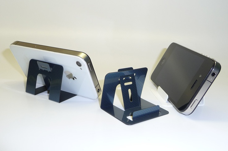 GoGoStand iPhone 4 Stand - Travel iPhone stand fits in wallet | It Goes Where You Go!