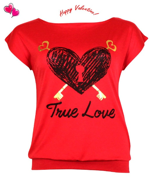 True Love Valentine's Top Plus Size 1X,2X,3X $10   Click Here: http://www.jasmineusaclothing.com