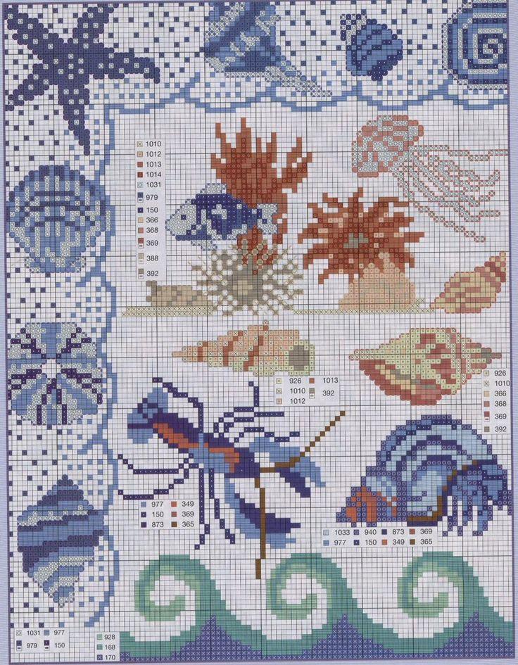 Schema punto croce Marino-1