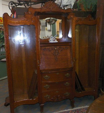 Second Time Around Antiques - Braidwood, Illinois Double side by side  bookcase secretary desk all - 345 Best Antiques At Our Shop Braidwood IL Images On Pinterest