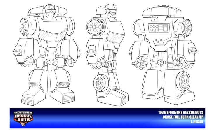Rescue Bots Chase Clean Up by