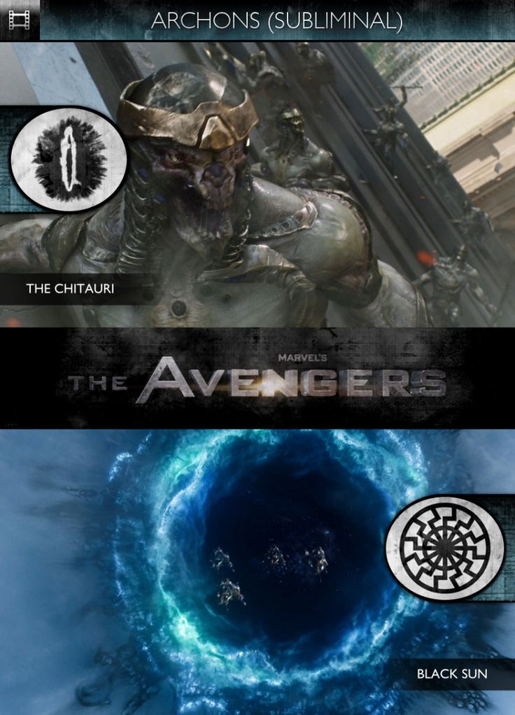 Archons - The Avengers (2012) - The Chitauri