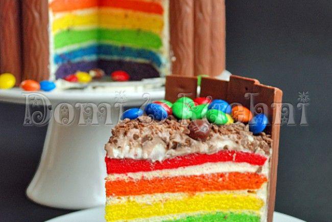 Tort tęczowy | Domi w kuchni