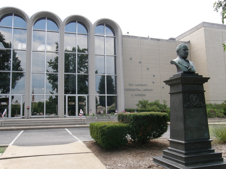 McKinley Presidential Library & Museum in Canton, Ohio