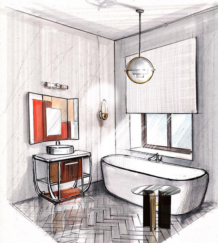 interior design sketchesarchitecture