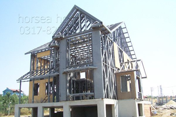 China Low Cost Easily Assembled Mobile #Houses for Sale #steel #construction