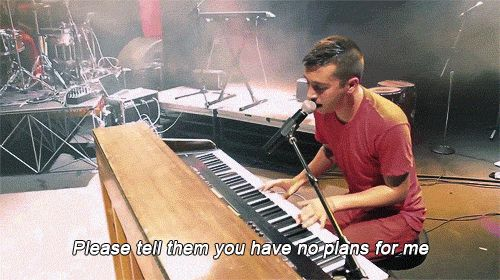 Twenty One Pilots   Vessel   Ode to Sleep   Please tell them you have no plans for me
