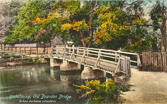 The Andrews Pages Picture Gallery : Boarden Bridge, Borough Road, Godalming, 1906