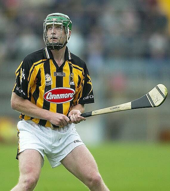 GAA Hurling, Henri 'the legend' Shefflin in action in O'Neills.