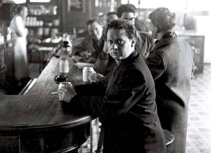 Dylan Thomas, White Horse Tavern, NYC, 1952