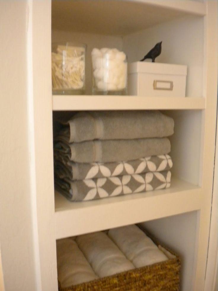 Linen Closet In Guest Bath