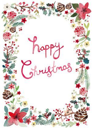 Merry Christmas to all of my friends, followers and fellow pinners.  May your holiday season be filled with love and joy.