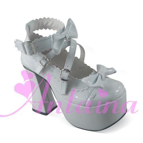 >> Click to Buy << Princess sweet lolita gothic lolita shoes custom  lolita cos punk big bow dress shoes 2002 high-heeled  High Platform shoes #Affiliate