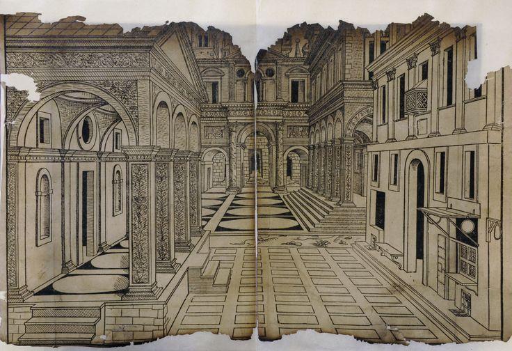 731 best giovanni b piranesi architectural perpestiva for Architecture quattrocento