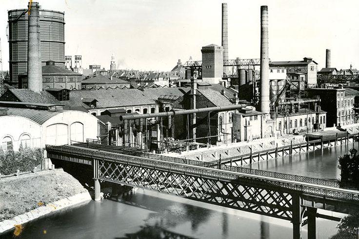 1925 Gaswerk Glocksee Therme