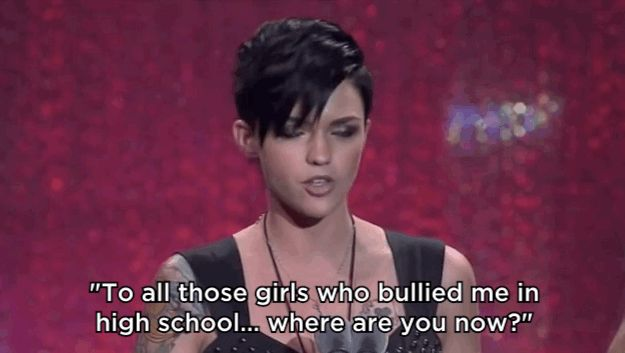 Never wanting anyone to feel as alone as she did in her childhood, she now speaks openly about her depression and PTSD. | Can We All Just Take A Moment To Appreciate Ruby Rose?