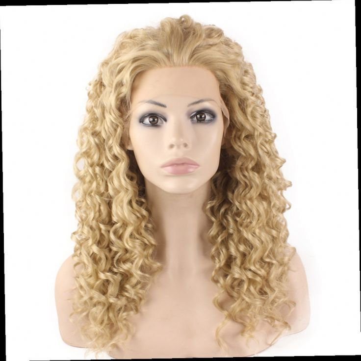 53.80$  Watch here - http://alivxh.worldwells.pw/go.php?t=32232764251 - Daily Beauty SF6 Ash Blond Afro Kinky Curly Wig Lace Front Wig Curly Intense Kanekalon Hand Tied Quality Wig For White Women 53.80$