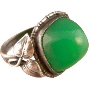 art nouveau ring on Ruby Lane (page 4 of 44)