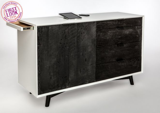 Connected! at #LVMkt: New exhibitor Seed Furniture offers USB connectivity and cord management in its patent-pending Power Portals cases. See the line in Building C, C-0163.