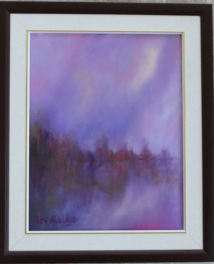 Dreaming by the Lake by BevAlldridgeArt on Etsy