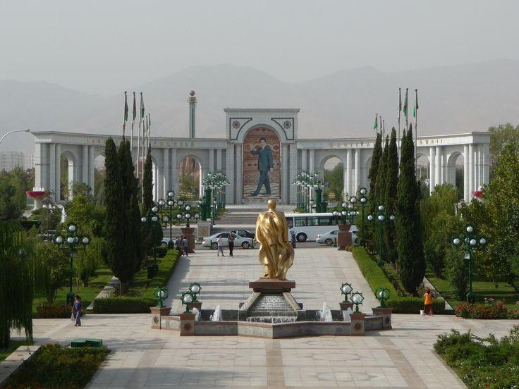 Ašchabad - biele mesto lásky