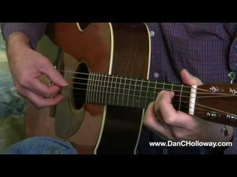 One Of Us - Joan Osborne - guitar lesson by Dan C Holloway