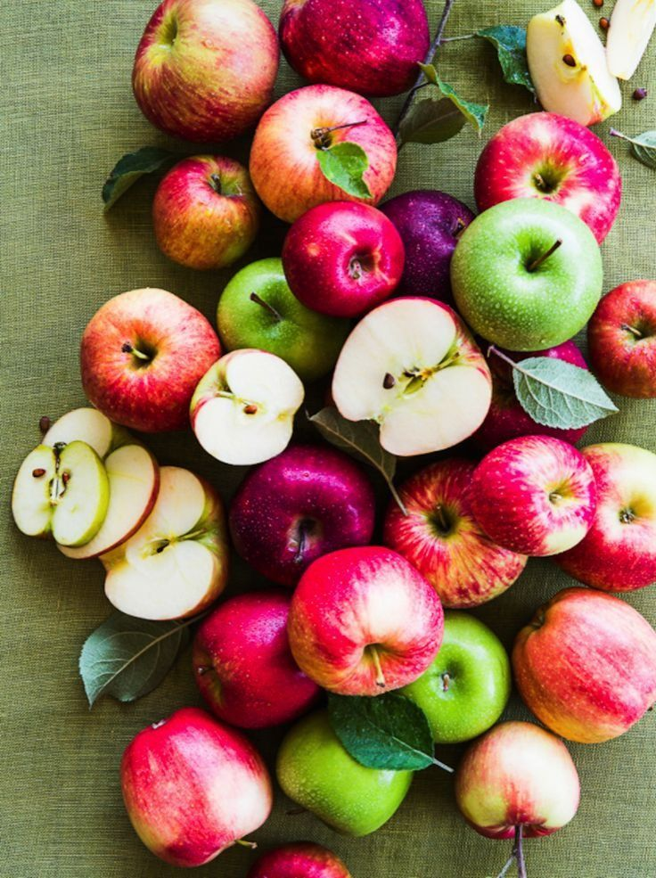 Nothing says fall like apples.