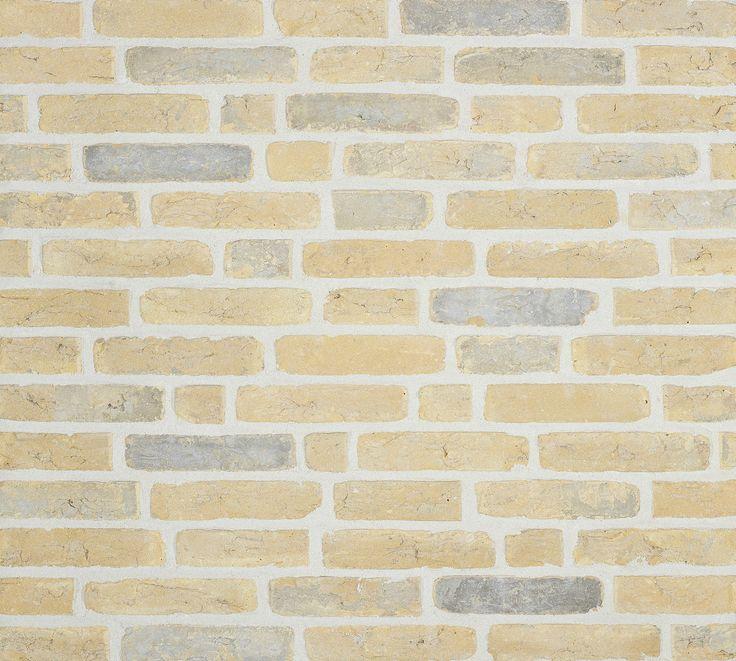 Vieux Toulouse in Waalformaat - Olivier Bricks - gele gevelstenen