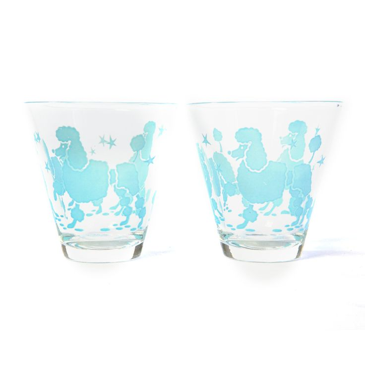 1950s Poodle Bar Glasses...maybe they're not pink, but they're cooooool!