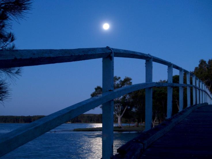 Moonlit Bridge, Budgewoi Australia 2006