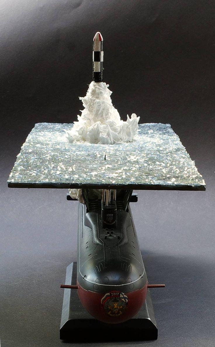 Great scale model of Russian submarine Yury Dolgorukiy (K-535) - 20