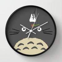 Wall Clocks by Minette Wasserman | Society6
