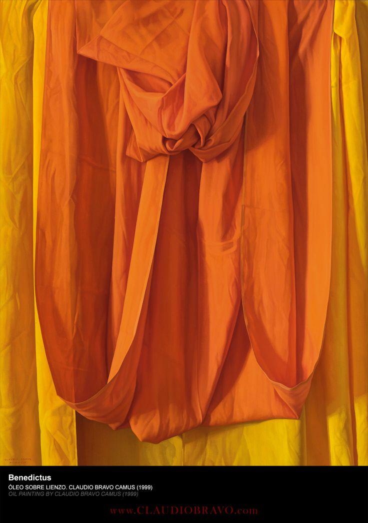 Benedictus [1999] Óleo sobre lienzo / Oil on canvas 149,4 x 118,1 cm. / 58 7/8 x 46 1/2 in.  ClaudioBravo.com #ClaudioBravoCamus