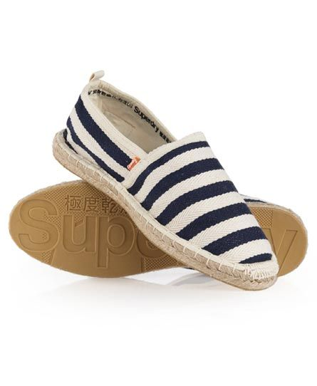 Superdry Super Elastic Espadrill A sturdy pair of espadrilles adds to summery casual look!