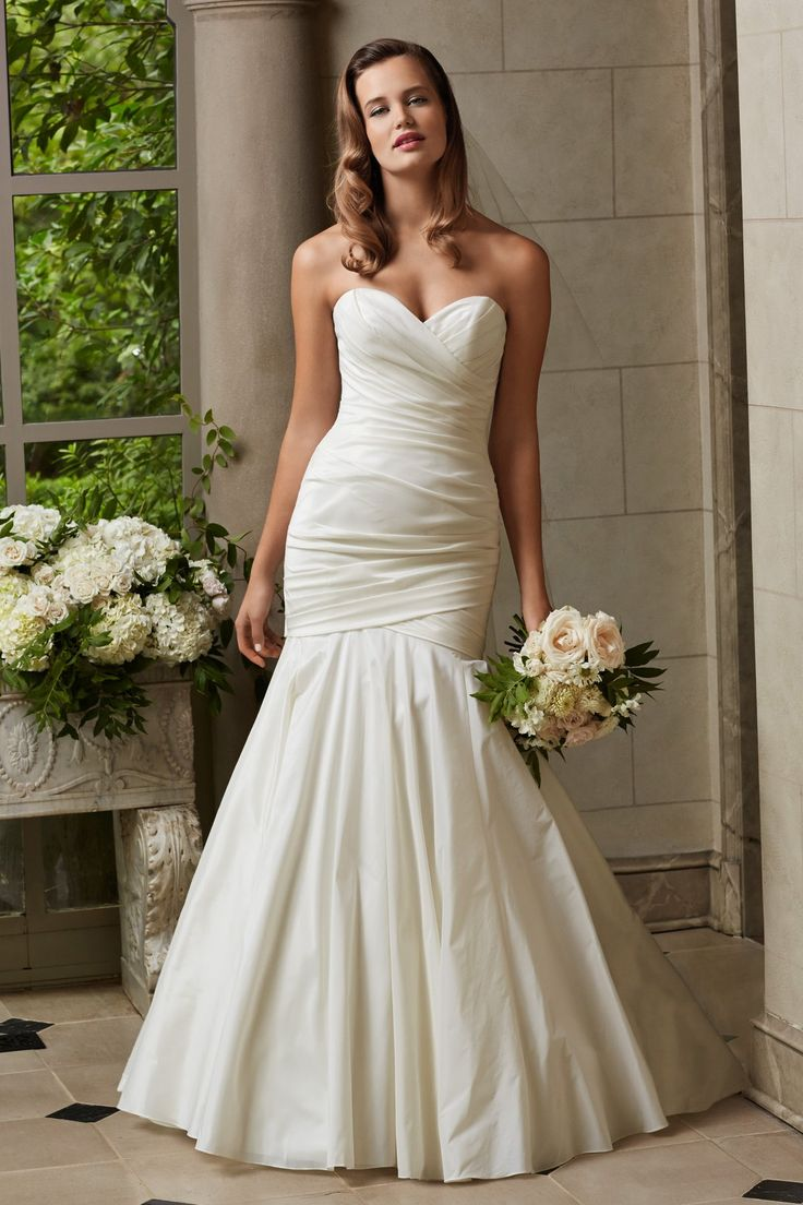Designer: Wtoo Style: Clara Available at Bliss Bridal in Wisconsin. www.blissbridalonline.com