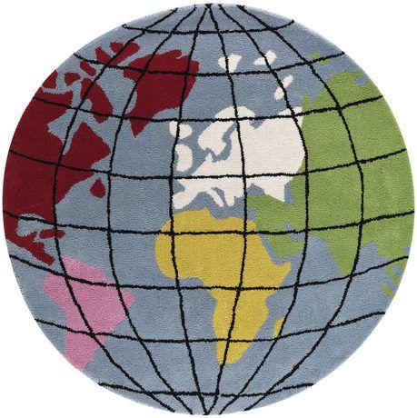 Learn Earth barnmatta från Kateha - Handla Katehas barnmattor på Mattconcept.se