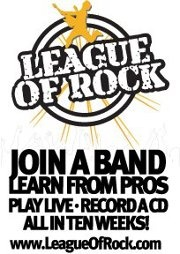 Join A Band, Learn From Pro's, Record A CD, Perform In A Live Venue... All In Ten Weeks. http://www.LeagueOfRock.com