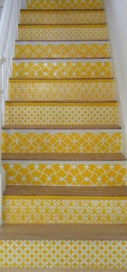 Gorgeous! Maybe not all yellow but definitely a sweet idea