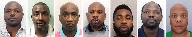 Seven men were jailed for making fake British passports and degrees after an undercover po...
