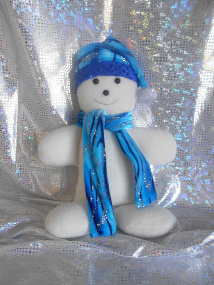 Simon Snowman Christmas Decoration Doll
