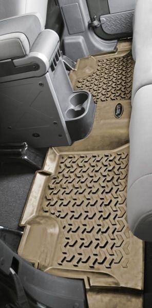 RUGGED RIDGE All Terrain Floor Liner Rear 07-12 Jeep JK Wrangler Unlimited 12950.01, $79.99 (http://www.wrangler4x4.com/all-terrain-floor-liner-rear-07-12-jeep-jk-wrangler-unlimited/)