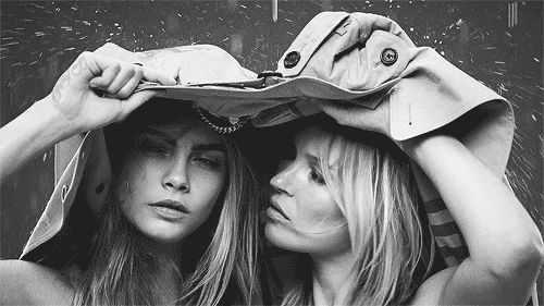 black and white fashion mtv style kate moss burberry