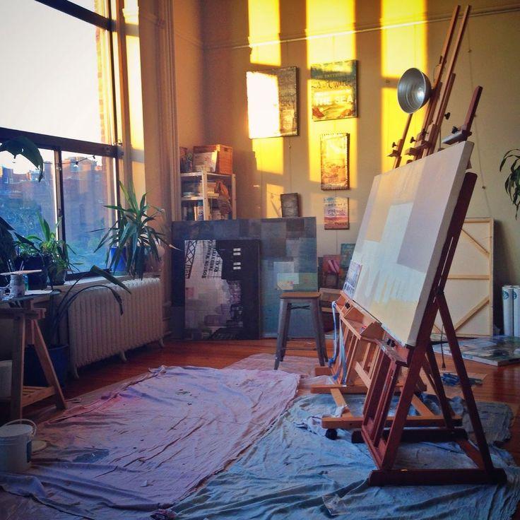 50+ Art Studio Inspiration – photo ideas