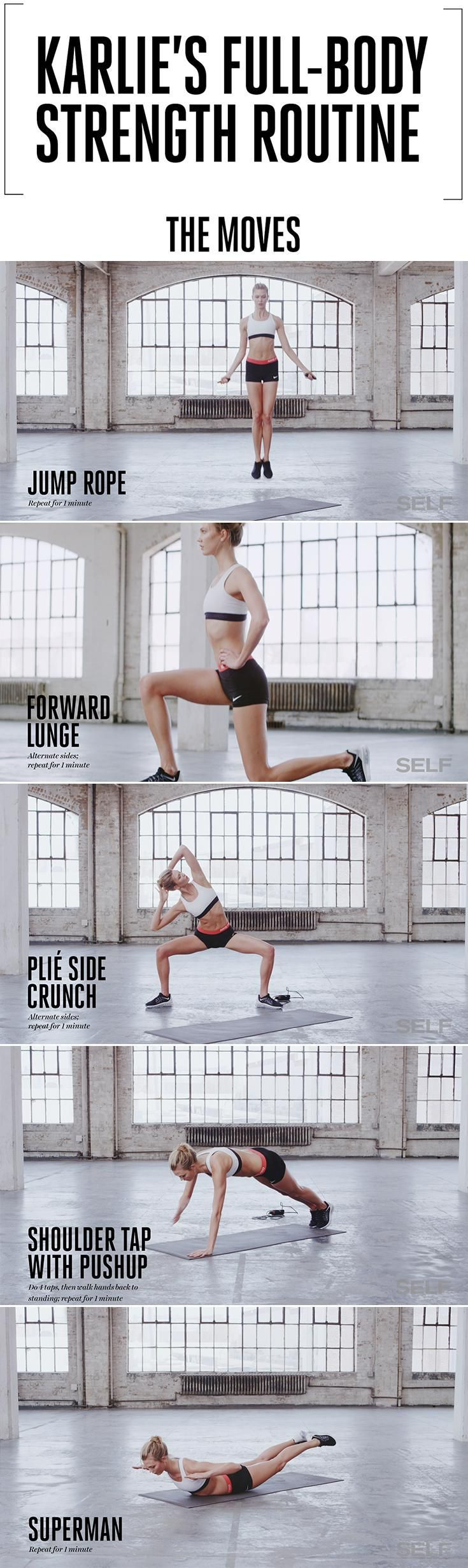 Work Out With Karlie Kloss Exclusive videos to get fit alongside the supermodel.