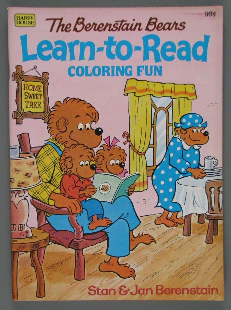 google image result for httpwwwthestrongorgonline berenstain bearscoloring bookshomeschoolgoogle - Berenstain Bears Coloring Book