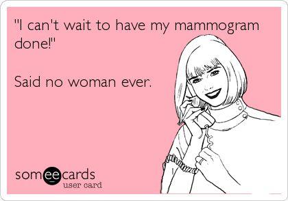 Mammography humor, radiology, xray