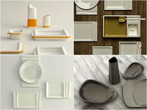 여심 유혹, 매력적인 미니멀리즘 접시 디자인 :: 디자인 로그(DESIGN LOG)