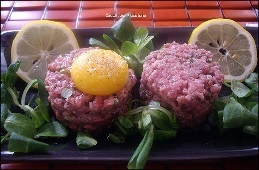 Tartare di Carne (bistecca alla tartara) #ricetta di @ariannaluraschi