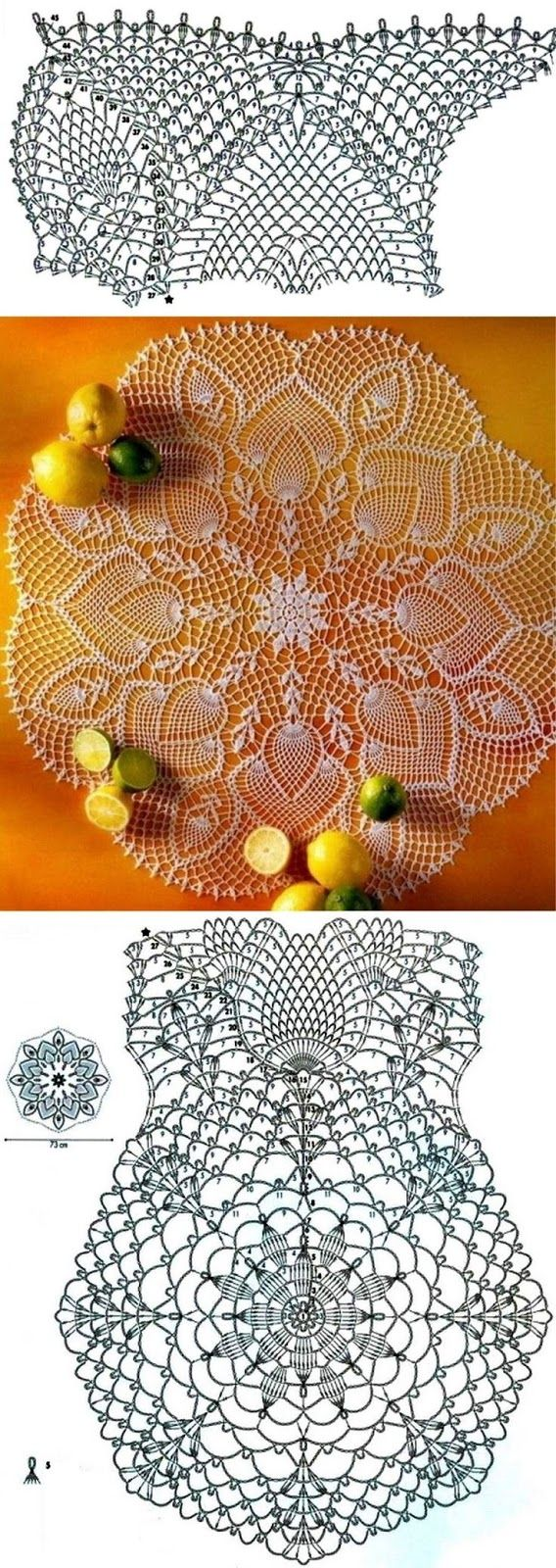 crochet napkin patterns